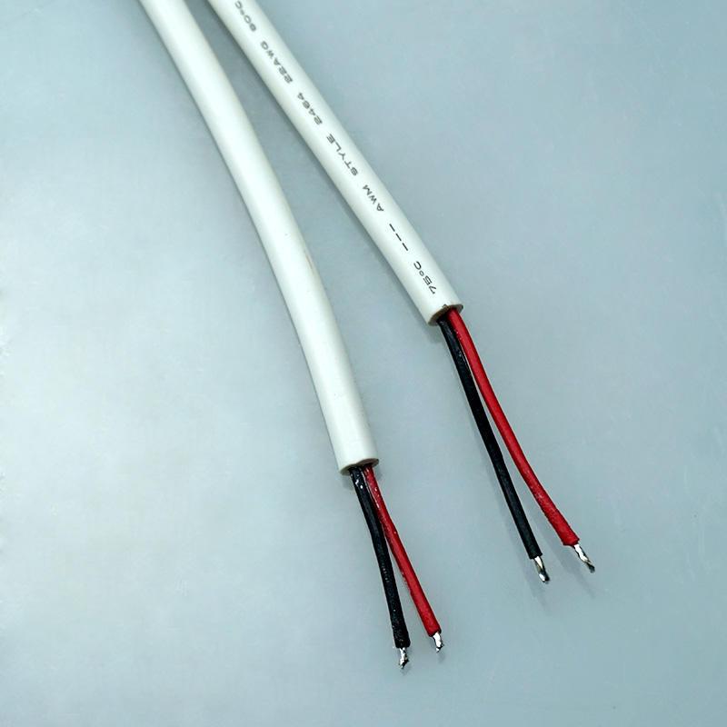 White Quick Lock 5.5*2.1 panel lighting dc power connector