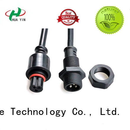 HUA YIN Panel PVC Waterproof Plug manufacturer for display screen