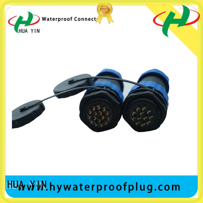 HUA YIN customized waterproof cord connector three drag for outdoor engineering connections