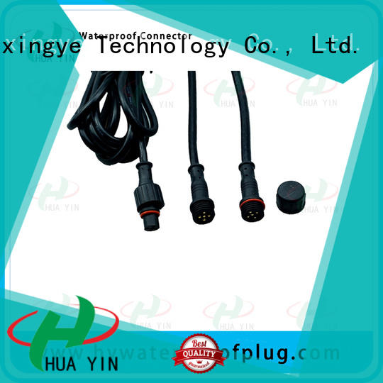 HUA YIN 12v plug connectors cable for cultivation