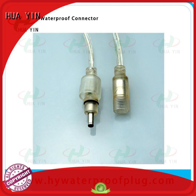 HUA YIN dc connector waterproof for solar water heater