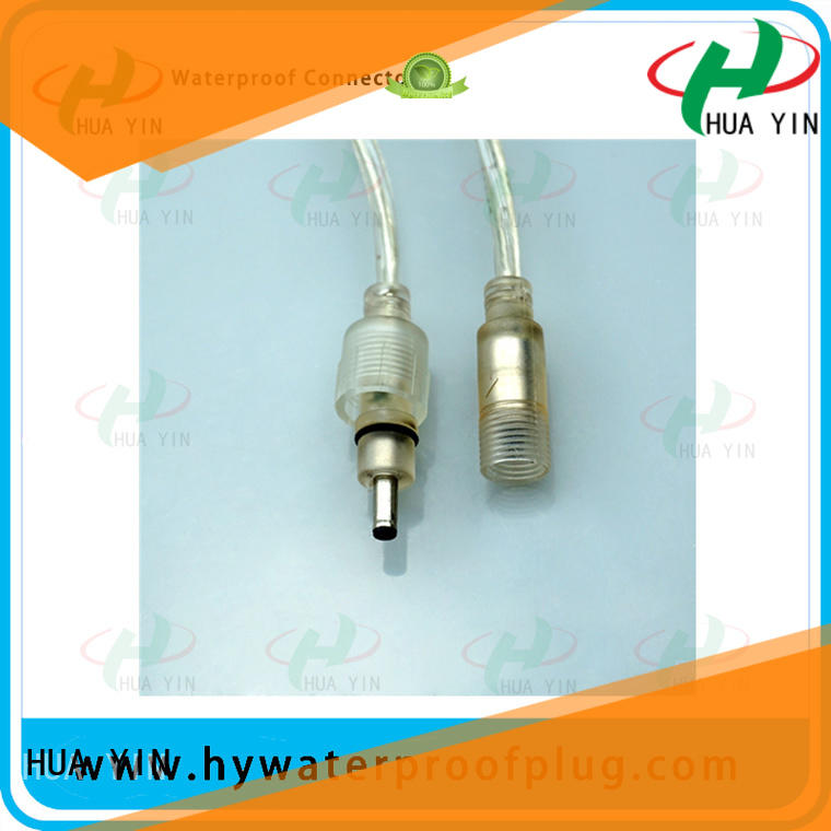 rubber waterproof dc connector joints for solar power agricultural machinery