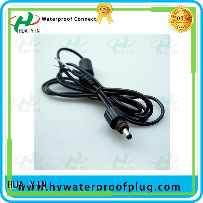 HUA YIN black waterproof dc power cable for sale