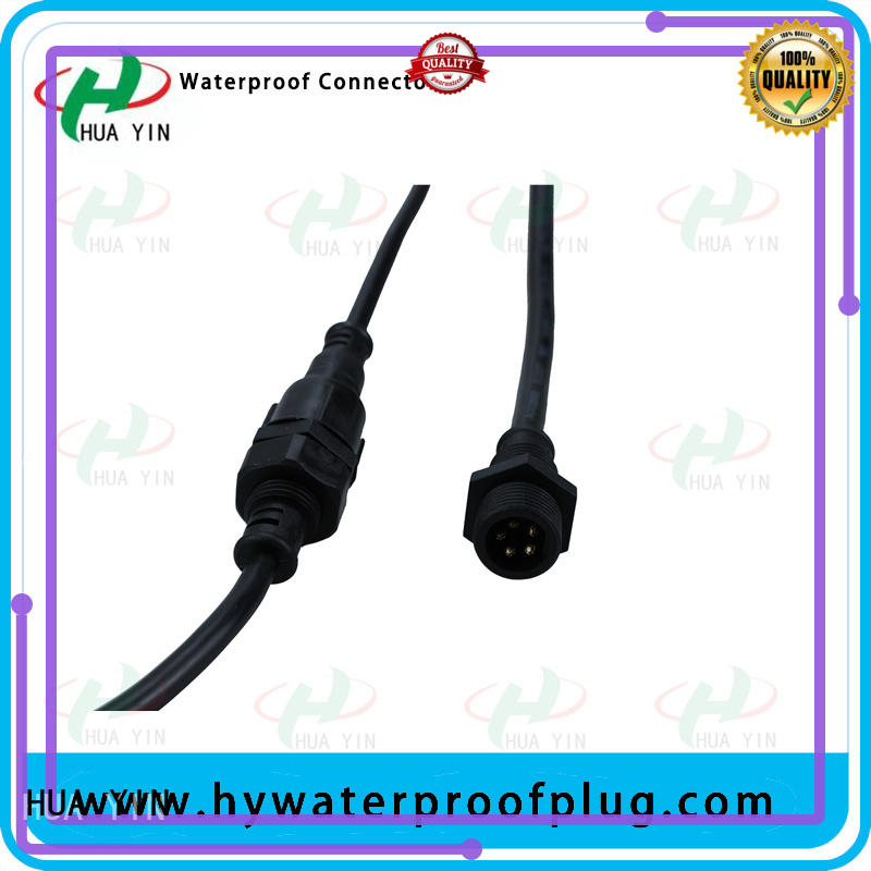 HUA YIN Panel PVC Waterproof Plug wholesale for led