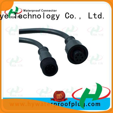 HUA YIN PVC Waterproof Plug suipplier for electronic industry