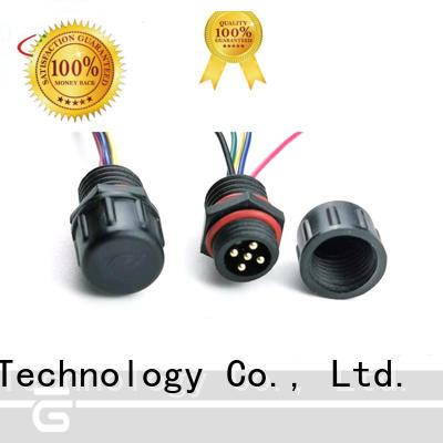 HUA YIN Panel PVC Waterproof Plug maker for electronic industry