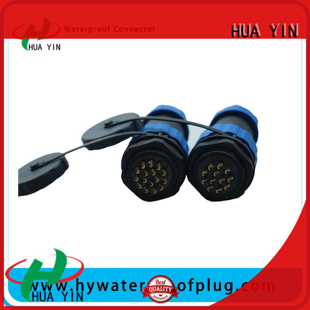 led y connector with wear resistance for street lamp