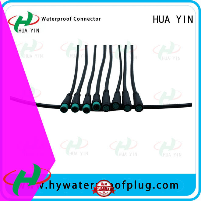 white m8 5 pin connector supplier for display screen