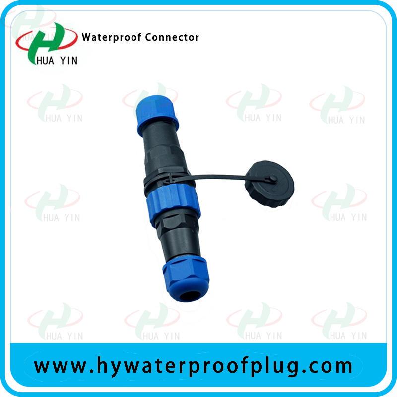 M12 Waterproof Connector 2 3 4Pin  IP67 plastic connector