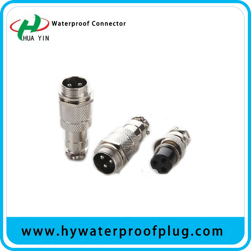 IP65 Cable Connector 2Pin to 8Pin aviation Connector Plug and Socket