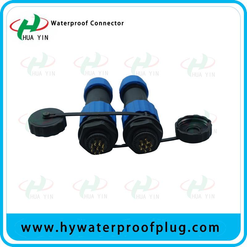 HUA YIN Industrial High Standard  M16  Waterproof   Circular Power Connector  IP67