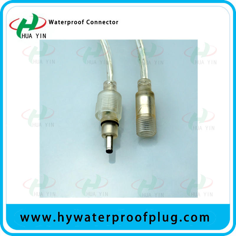 Electric DC male and female DC cable connector