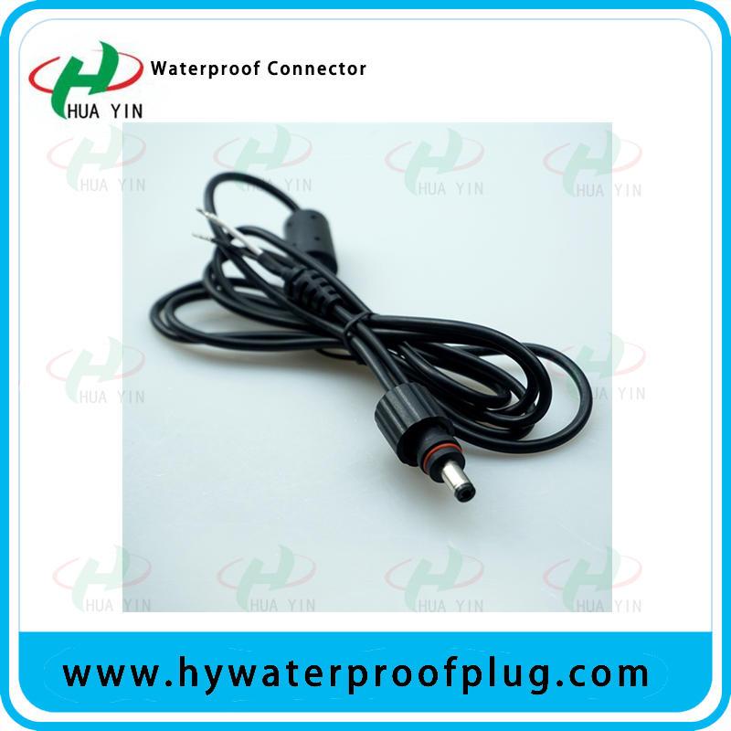 HUA YIN Factory waterproof 2 pin DC power connector