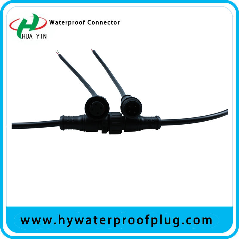 M16 4PIN cable IP67 waterproof plug