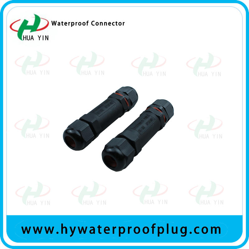 connector 10A 250V 2pin 3pin screw IP67 waterproof lighting connector