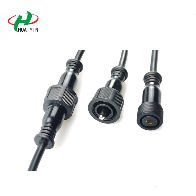 Factory provide IP68 waterproof circular female male 1pin cable connector
