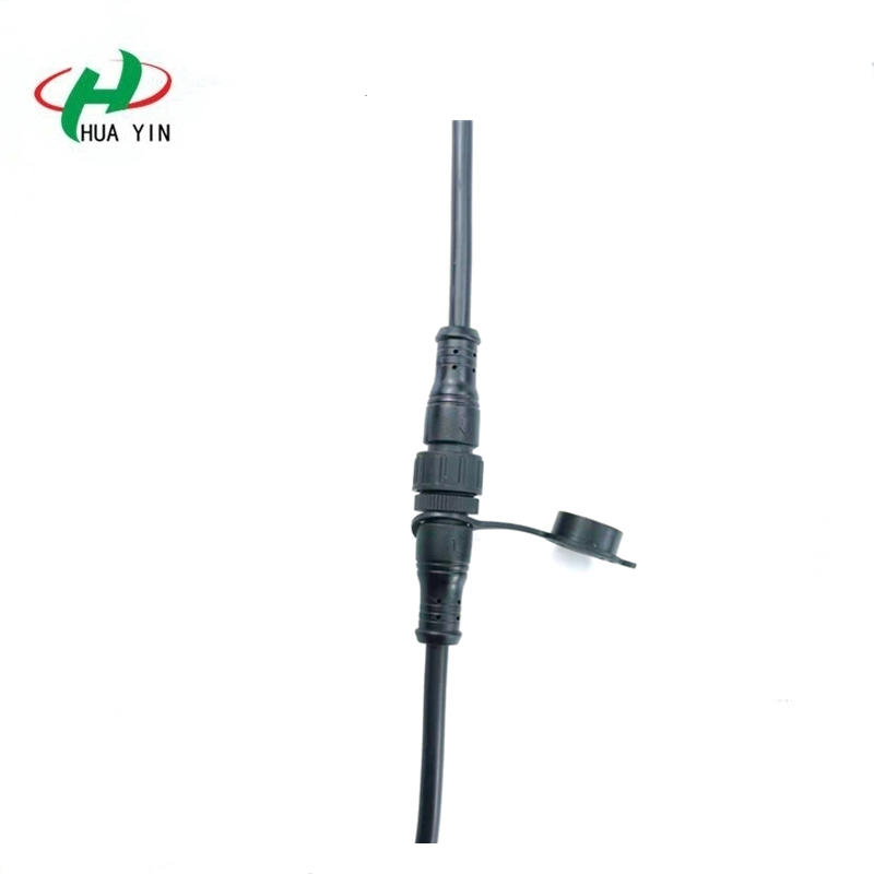 IP67 Waterproof Circular Female Male 2pin cable connector