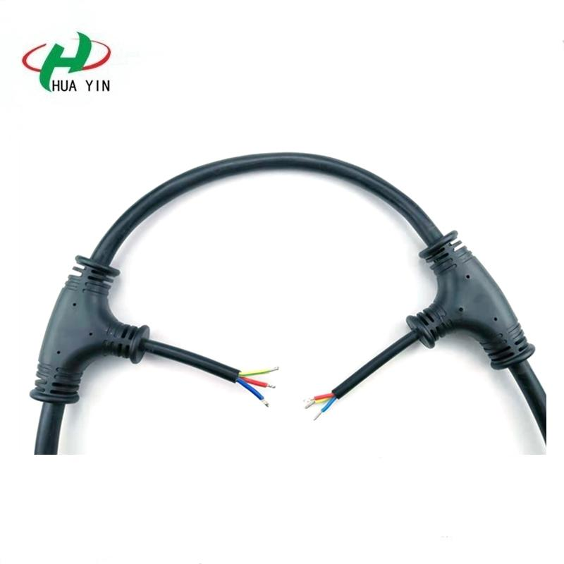 High power high current T-connector  IP67 Waterproof T Wire Connector