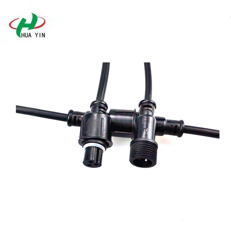 3core PVC Waterproof Connector 3pin male to female connector