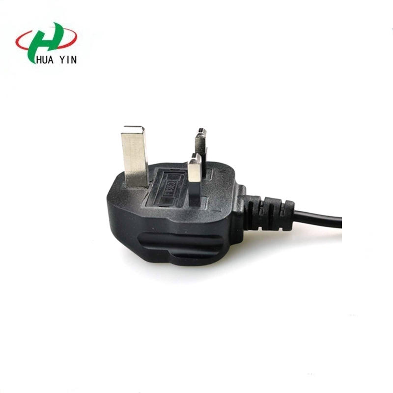 13A uk Black 3 Pin UK Mains Top Plug 13A 13 AMP Appliance Power Socket Fuse Adapter Household
