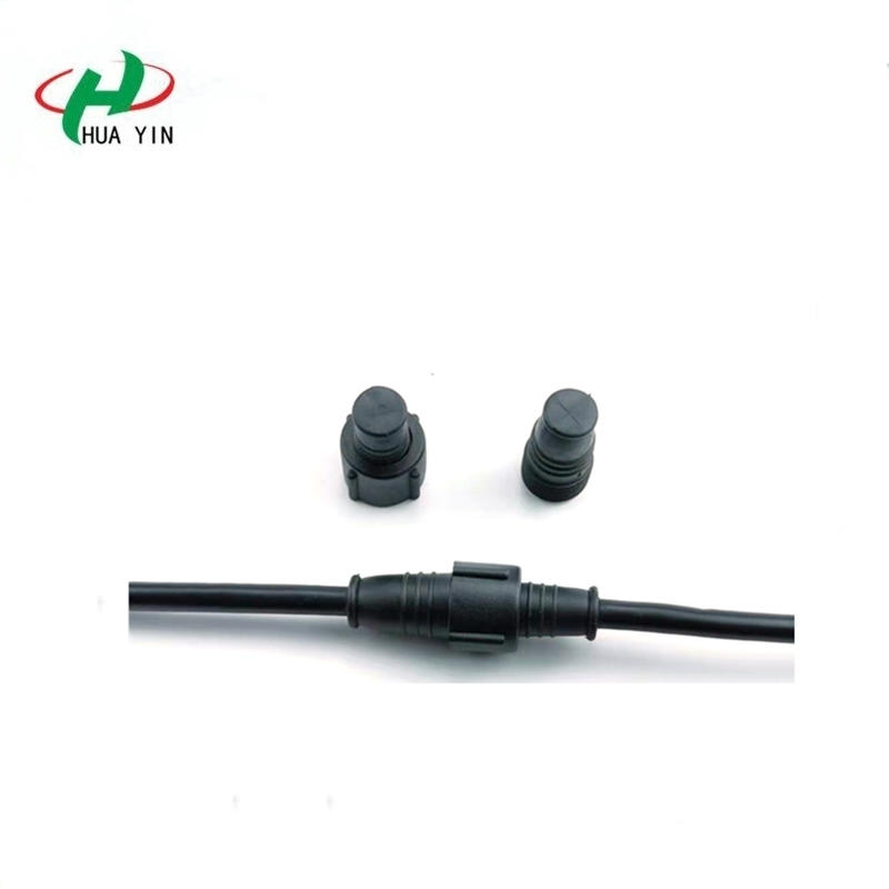 Factory direct sales electric pvc material male female 6 pin waterproof connector