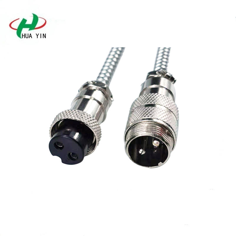 IP66 Cable Connector 2Pin to 8Pin aviation Connector Plug and Socket