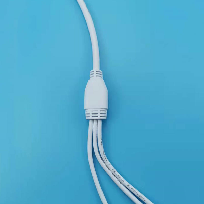 Factory direct sales LED Splitter Cable   Y Type PVC 2Pin Led Lights Wiring Splitter Connector
