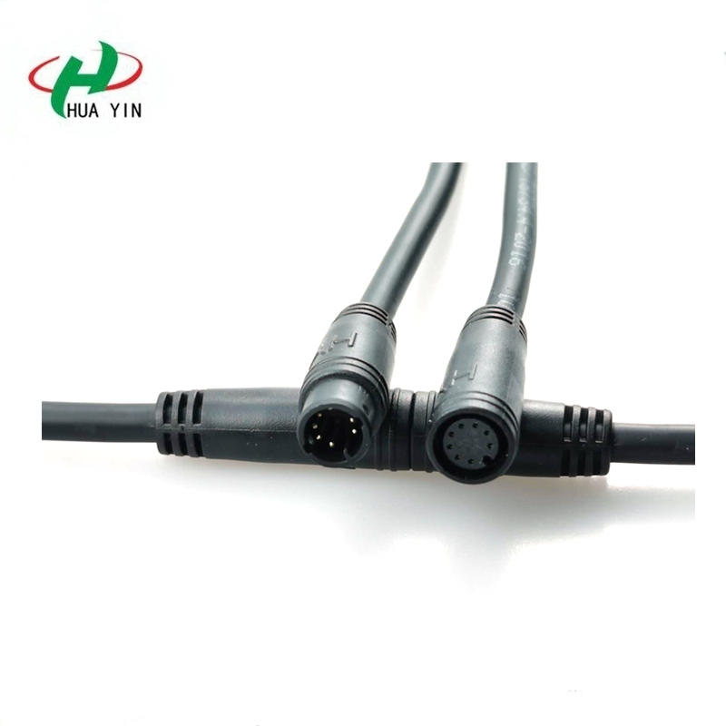 M10 8Pin male and female connector  M10 cable connector