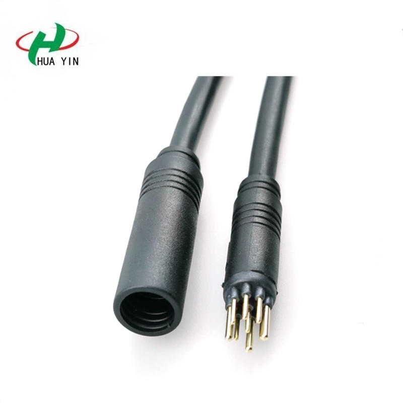 Motor 3+6 9 Core Male Female motor cable 9 pin Waterproof Cable Connector for Bicycle Sharing
