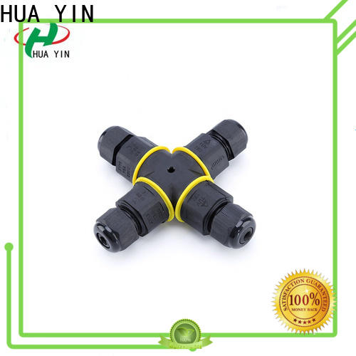 HUA YIN customized light socket with cord with t type threading for sale