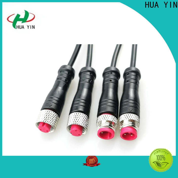 HUA YIN m8 joint connector manufacturer for led