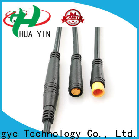 HUA YIN m8 5 pin connector wholesale for floor heating