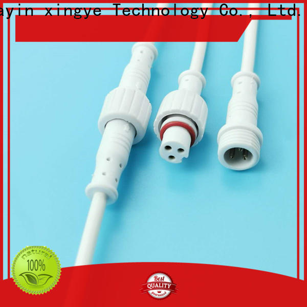 white 2 pin waterproof connector plug manufacturer for vessel