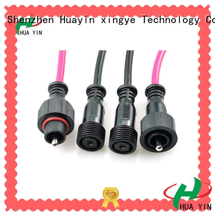 HUA YIN waterproof plug maker for display screen