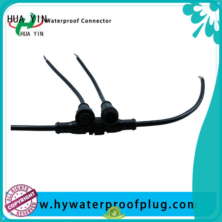 two pin Metal PVC Waterproof Plug supplier for vessel