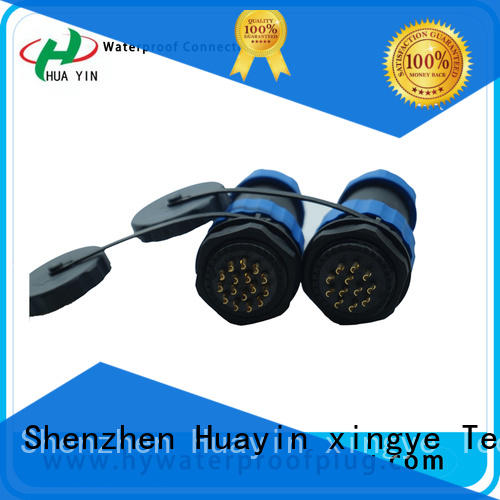 led y connector wire with sturdy shell for street lamp