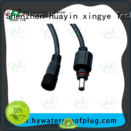 dc connector waterproof one square for lithium battery HUA YIN