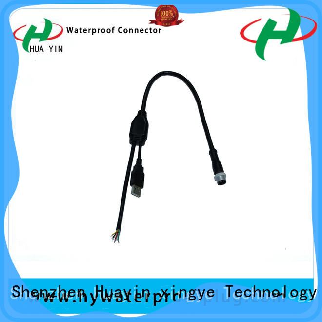 HUA YIN one input Y Connector manufacturer for laser