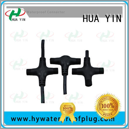 HUA YIN waterproof copper t connector fast delivery for cultivation