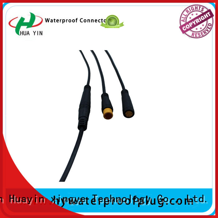HUA YIN m8 connector cable supplier for display screen