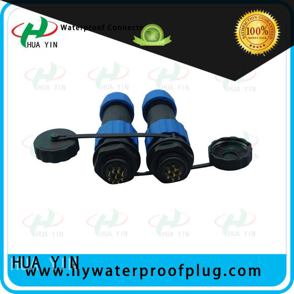 HUA YIN waterproof electric cable connectors manufacturer for solar panel