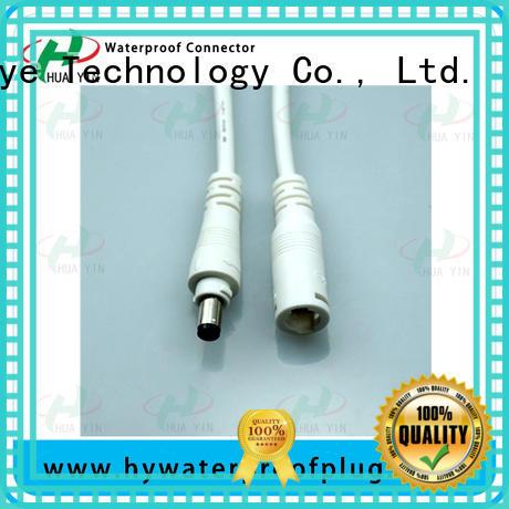 HUA YIN anti male waterproof dc jack manufacturer for lithium battery