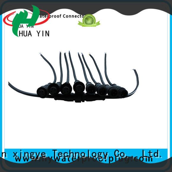 HUA YIN waterproof plug supplier for electronic industry