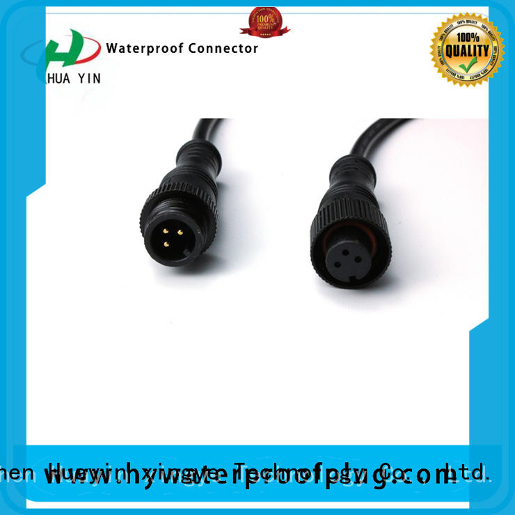 two pin waterproof plug manufacturer for electronic industry