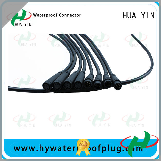 six pin m8 male connector manufacturer for display screen