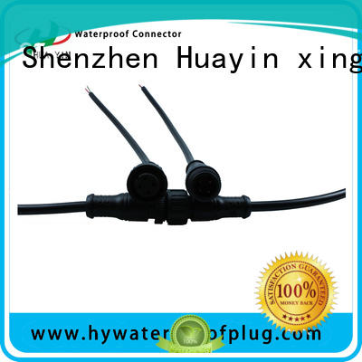 HUA YIN Metal PVC Waterproof Plug manufacturer for electronic industry