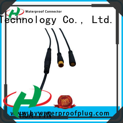 HUA YIN m8 5 pin connector manufacturer for floor heating