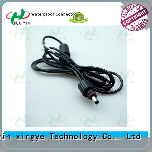 HUA YIN waterproof dc power connector joints for solar water heater