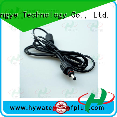 HUA YIN female waterproof dc power connector online for solar power agricultural machinery