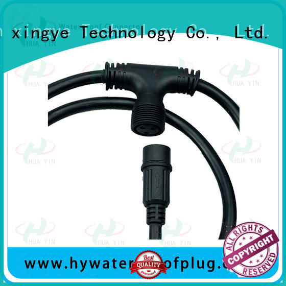 HUA YIN cable copper t connector wholesale for display screen
